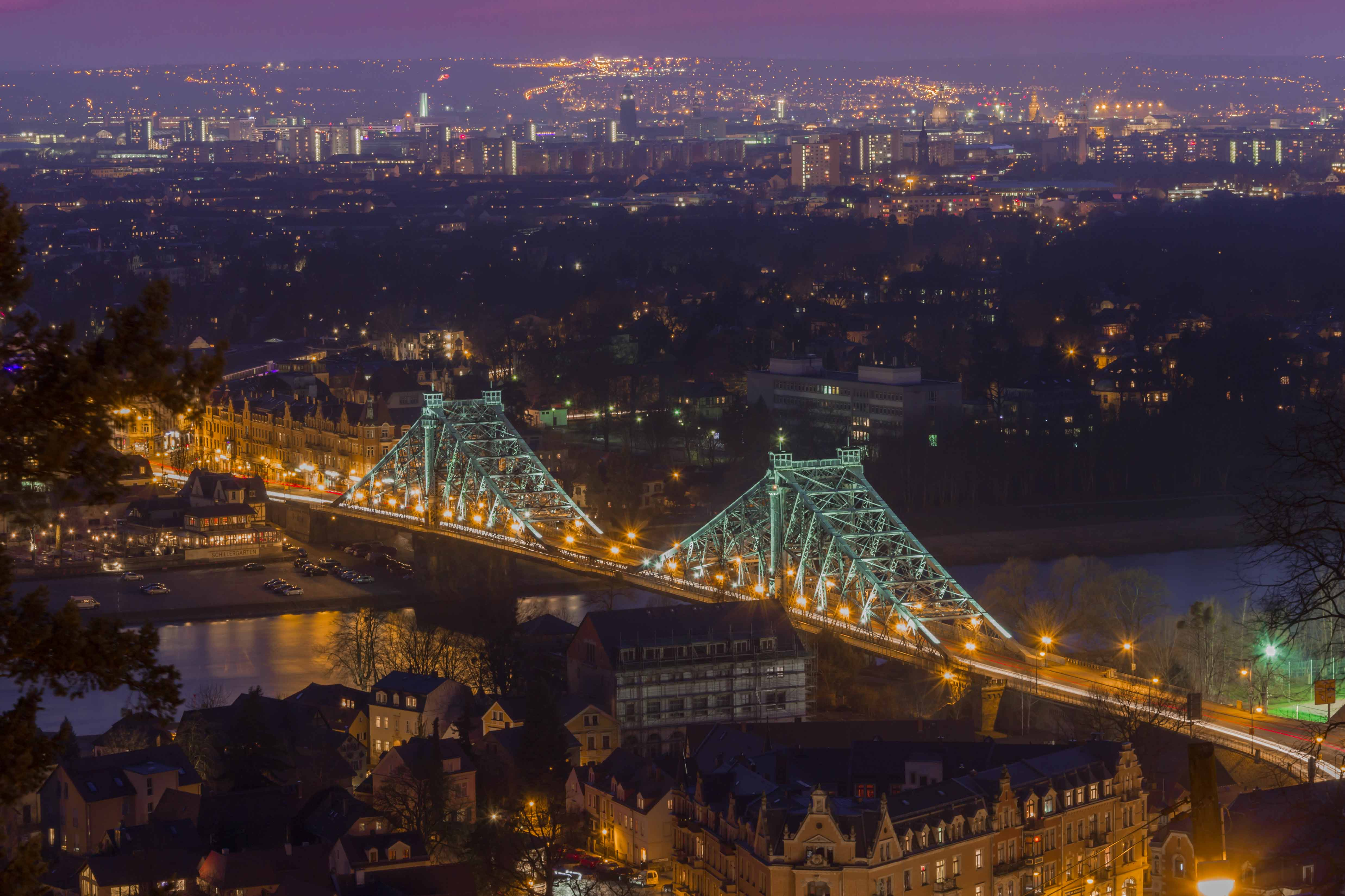 das Blaue Wunder Dresden