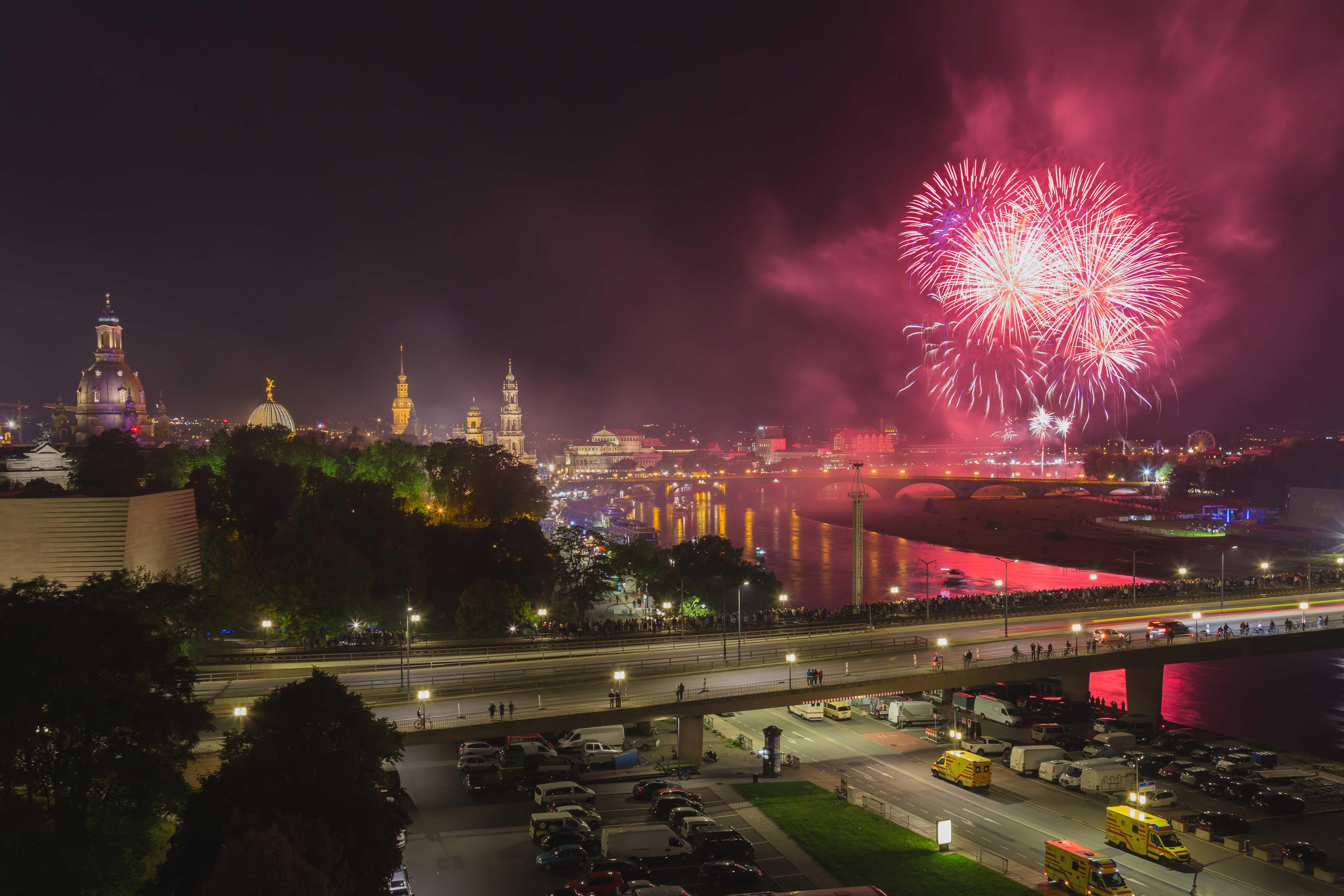Feuerwerk, fotografieren, Terrassenufer, Dresden, Tipps und Tricks