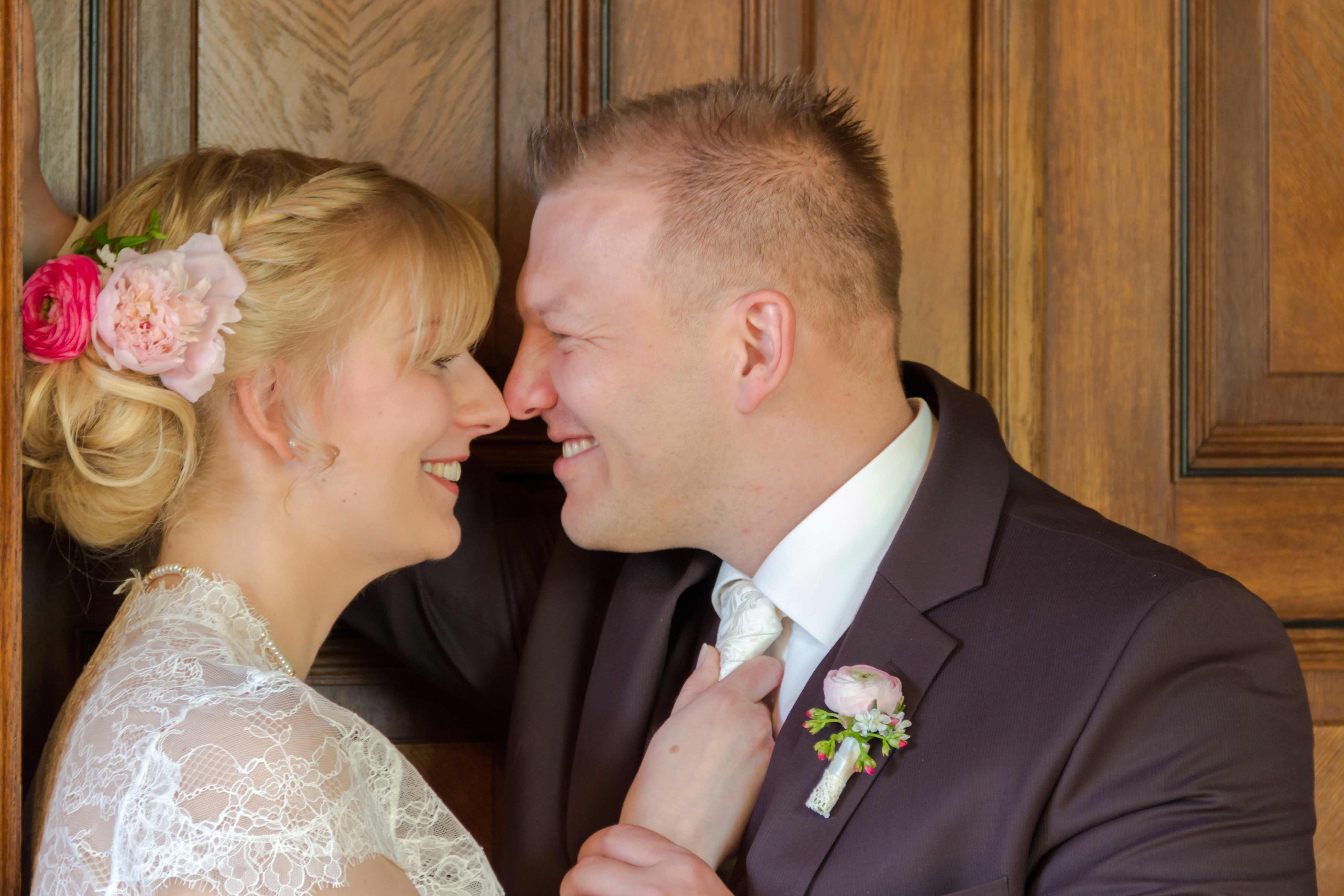 Brautpaar Hochzeit in Dresden