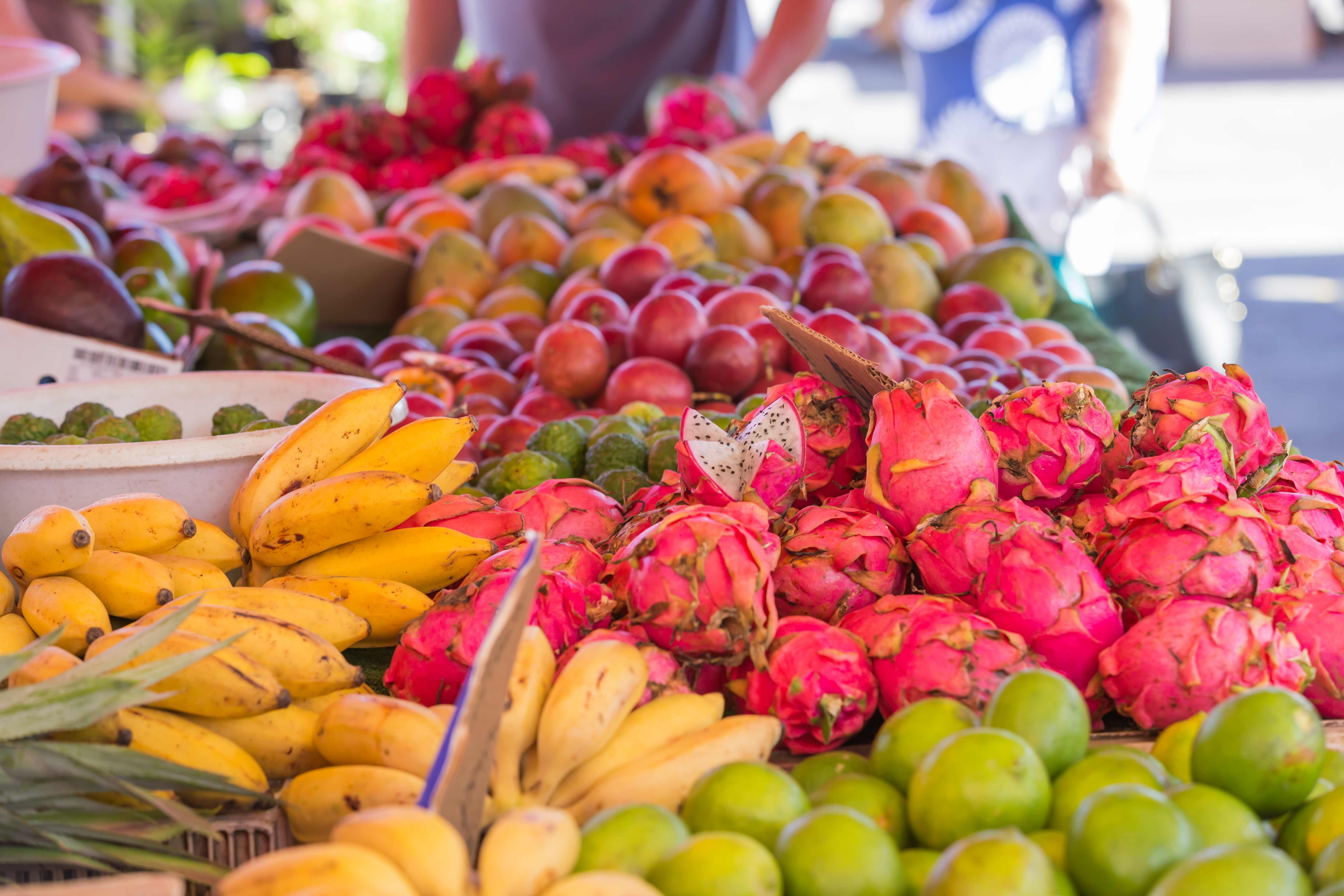 Markt in Saint Paul