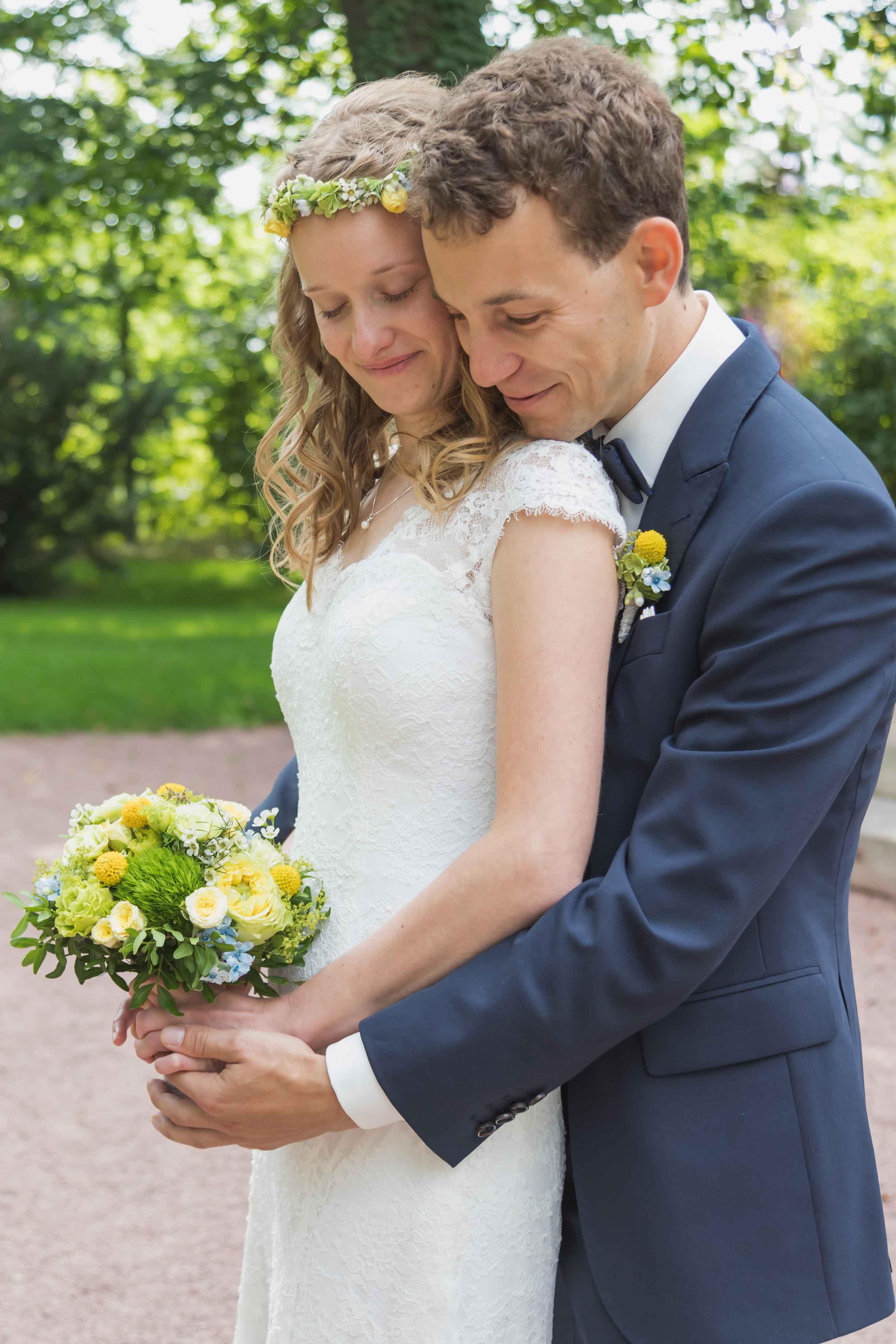 Hochzeit Fotoshooting Brautpaar Villa Teresa