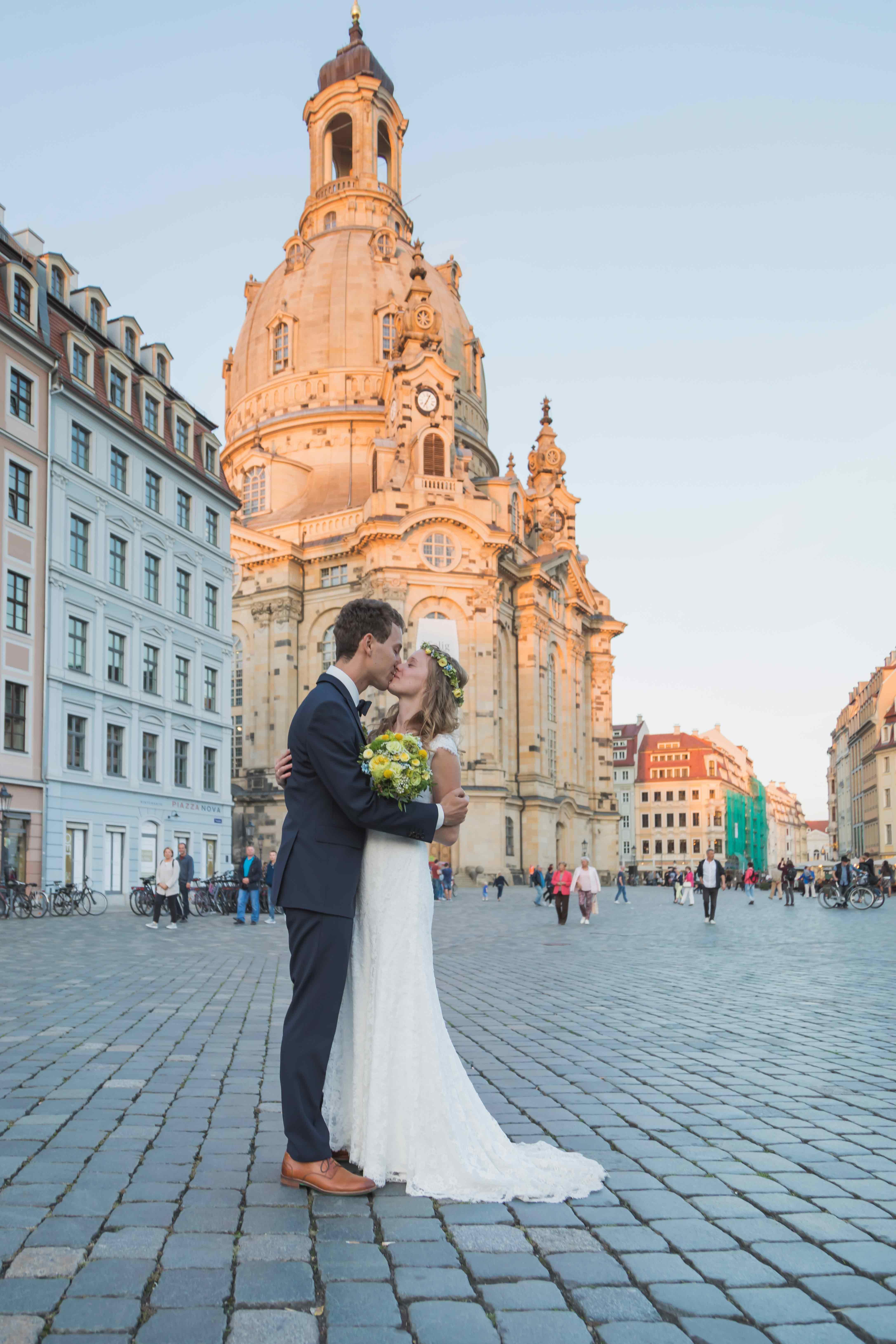 Hochzeit Frauenkirche Fotoshooting