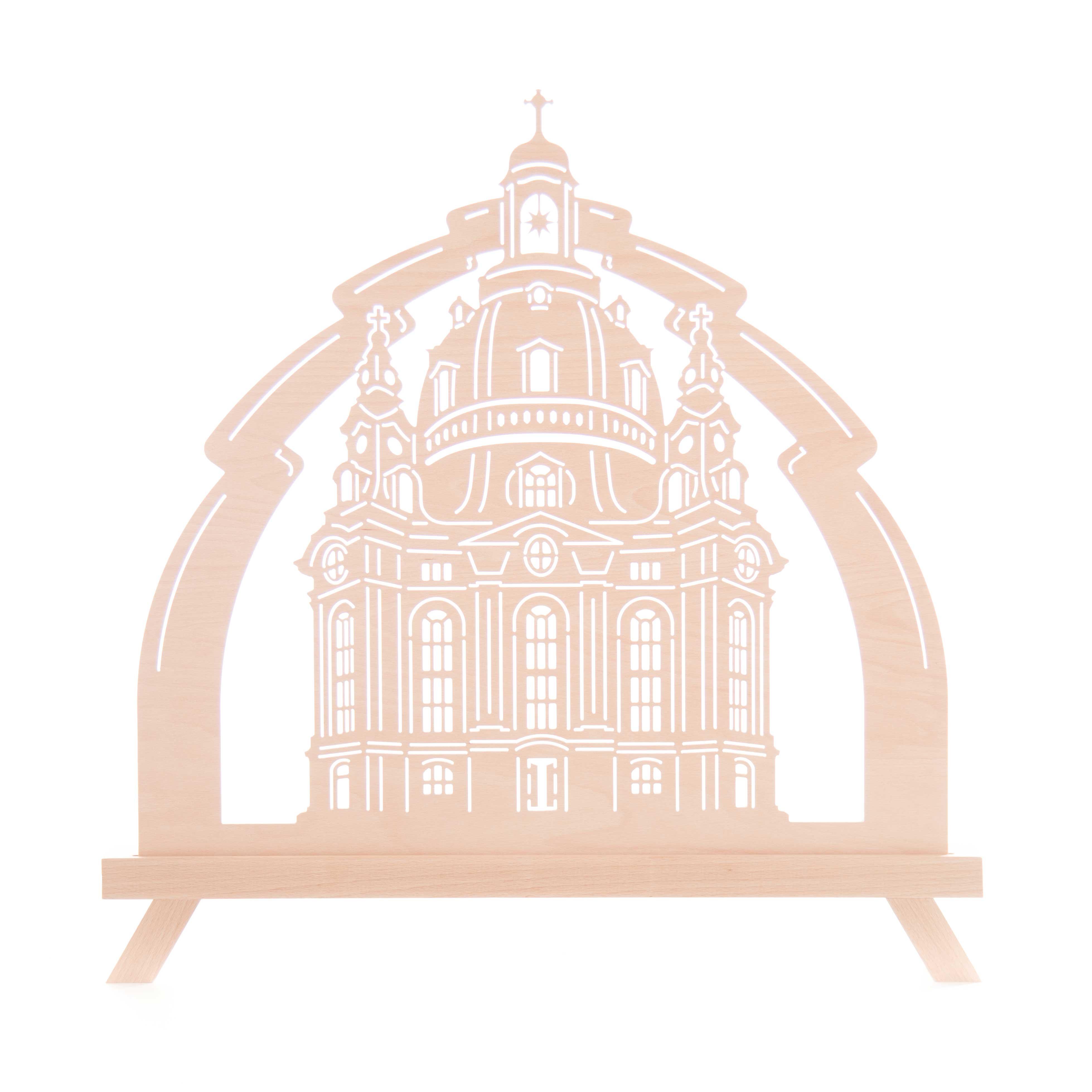 Dresdner Frauenkirche Lichterbogen