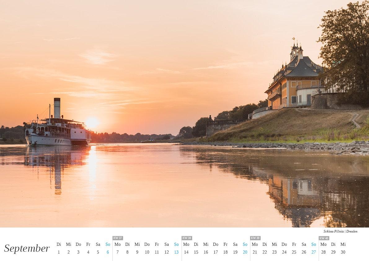 Dresden Kalender - September