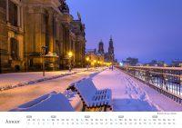 Wandkalender Brühlsche Terrasse - Januar