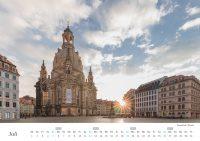 Dresden Kalender - Juli