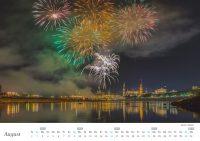 Dresden Kalender - August