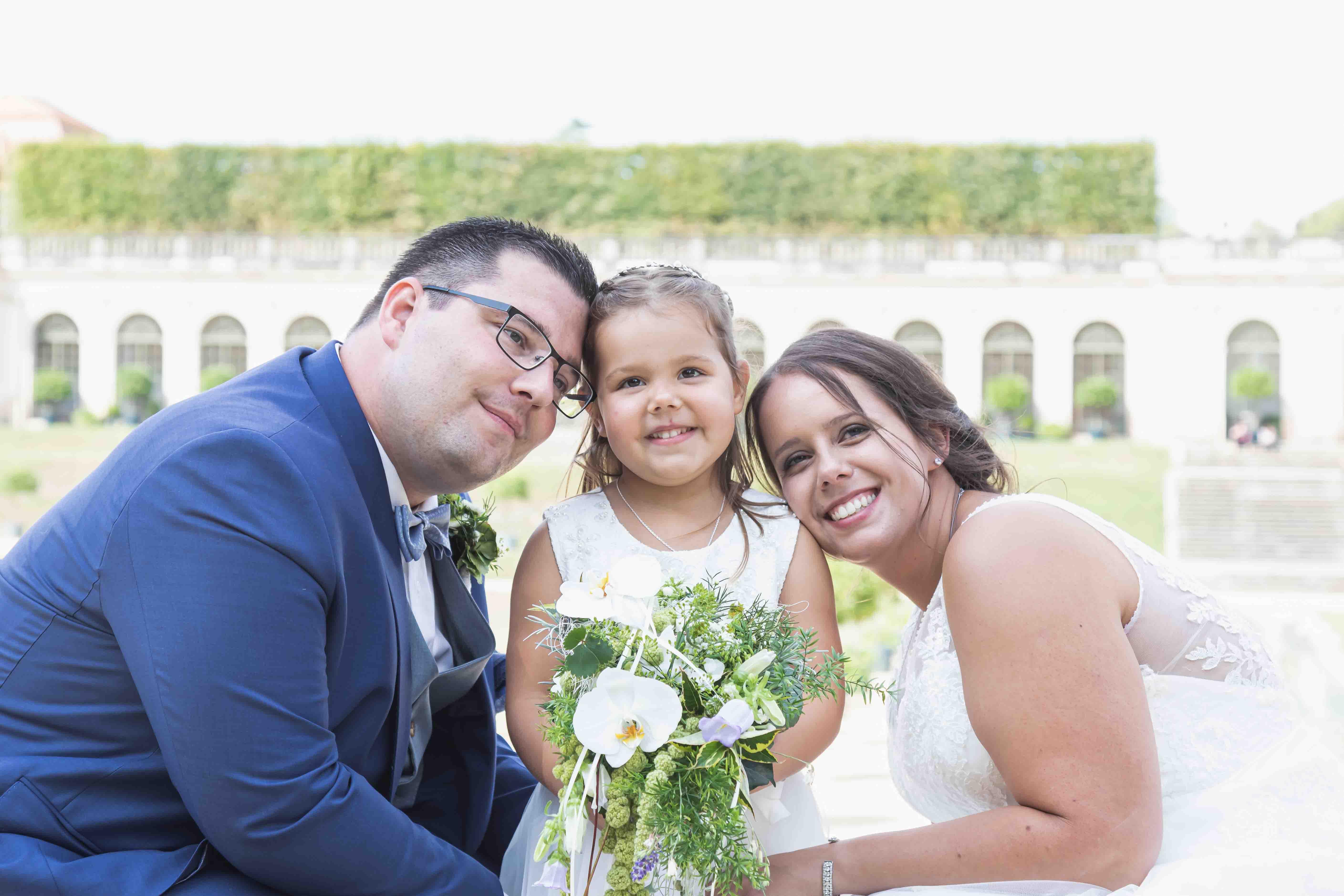 Glückliche Eltern - Hochzeit