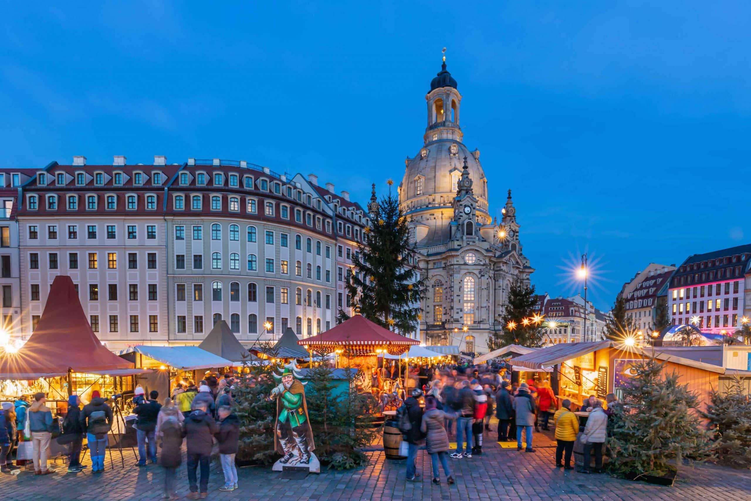 Weihnachtsmarkt Frauenkirche