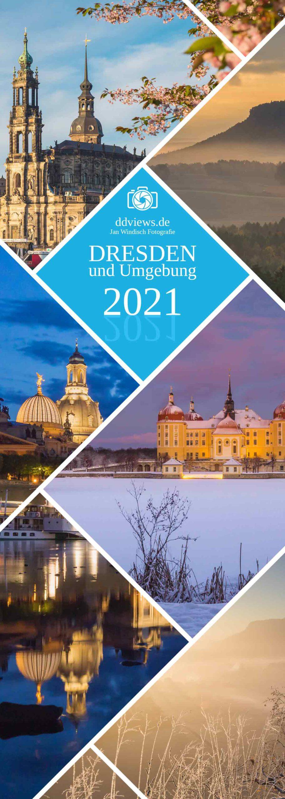 Dresden Streifenkalender