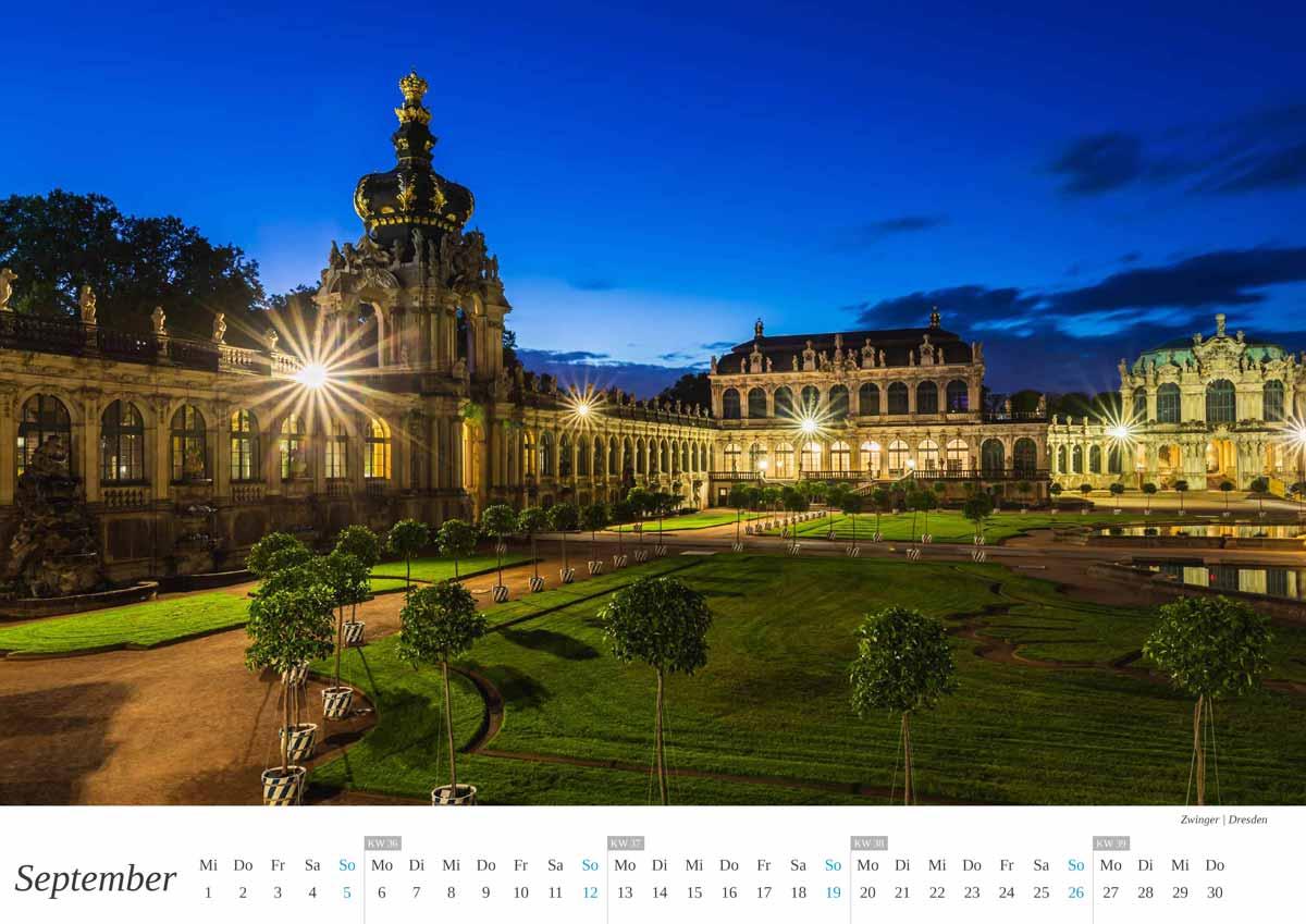 dresden kalender 2021 wandkalender