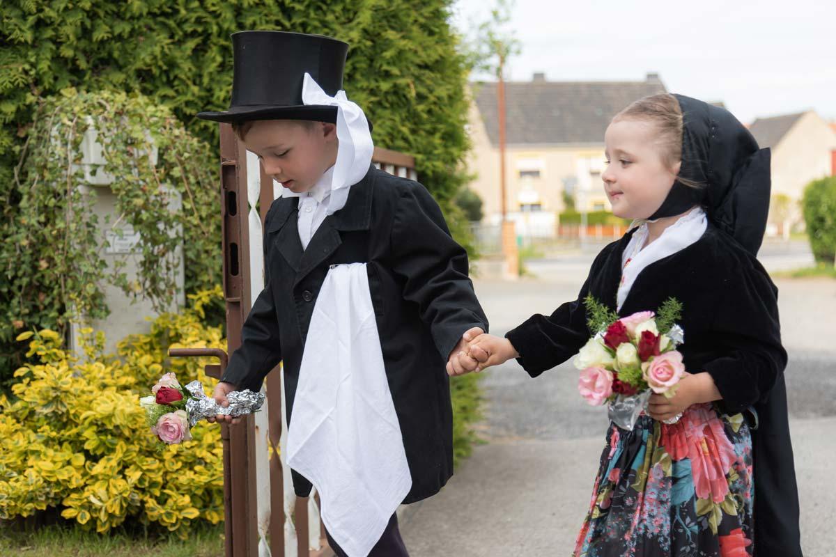 sorbische Hochzeit Kinder