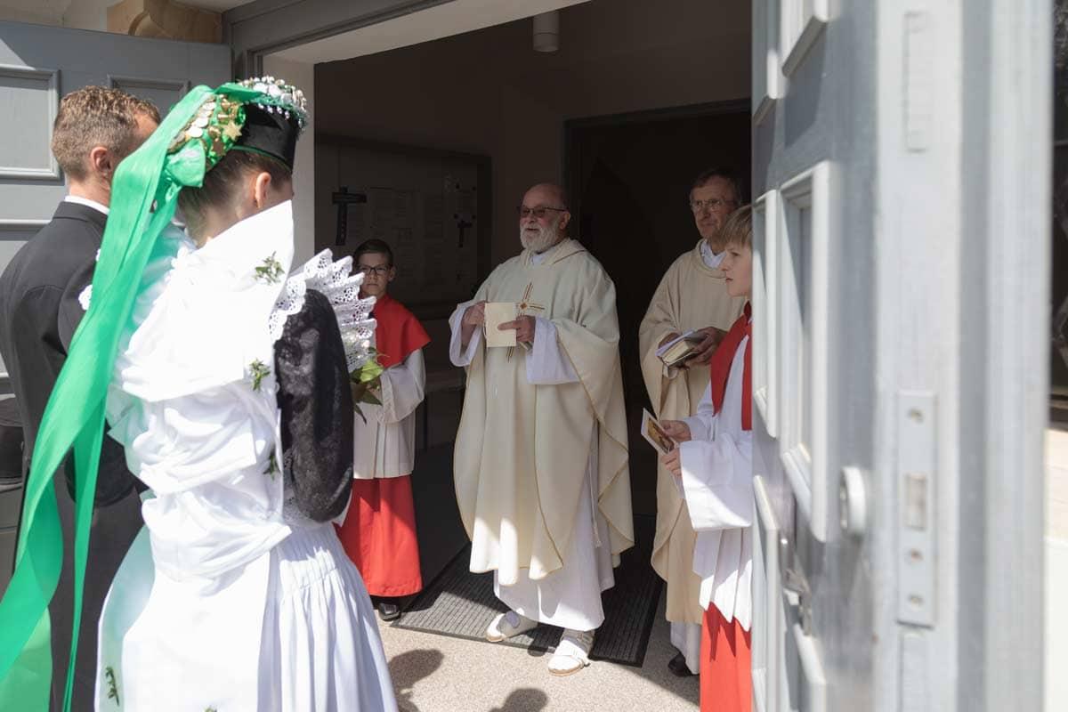 kirchliche Hochzeit Wittichenau